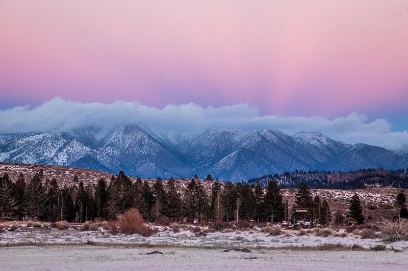 December 20 - White Mountains sunset, Mammoth Lakes, CA.jpg