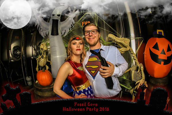 Fossil Cove Halloween 2018
