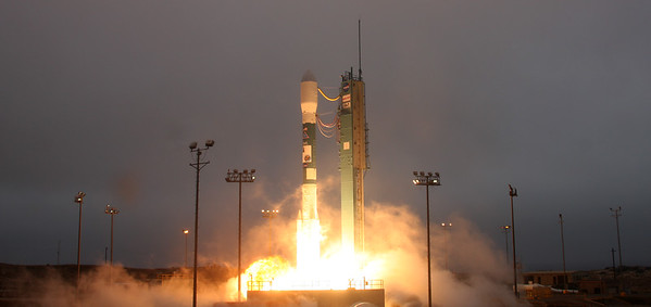 ULA Delta II with Aquarius/SAC-D spacecraft launched from NASA's Space Launch Complex 2 at Vandenberg Air Force Base, CA. on 06/11/2011