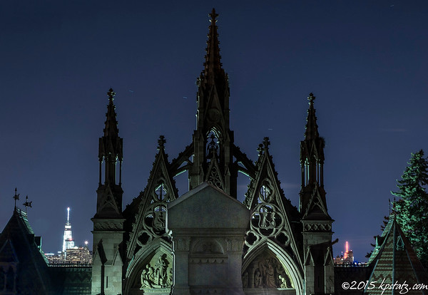 Green-Wood Cemetery Night Photography April 2015