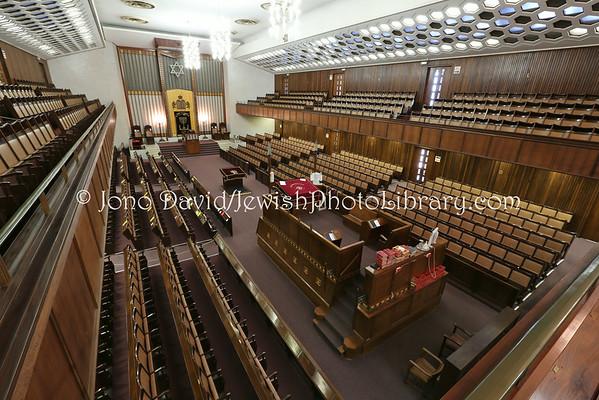 SOUTH AFRICA, KwaZulu-Natal, Durban. Durban Hebrew Congregation Orthodox Synagogue (3.2013)