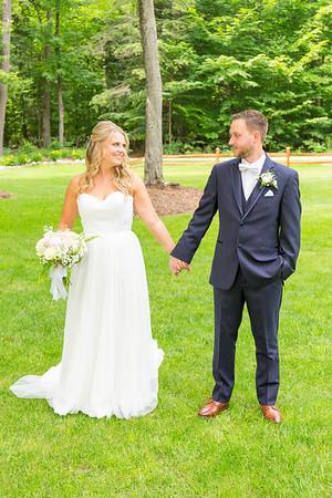 Kylie + Matt Pickerel Lake Wedding Photography