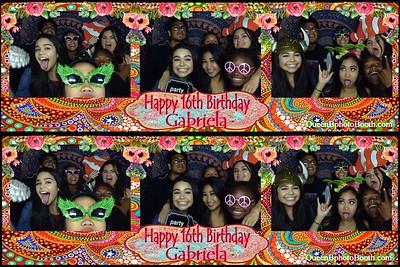 Gabriela's 16th Birthday