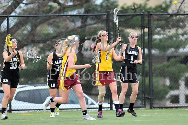 Governor Mifflin vs Berks Catholic Girls High School Lacrosse 2012 - 2013