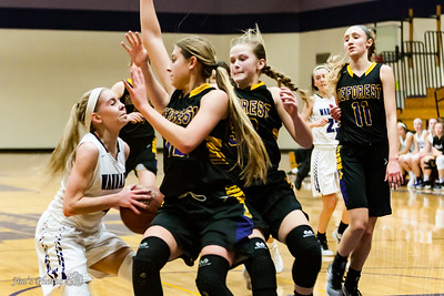 HS Sports - DeForest Girls Basketball - Dec 09, 2016