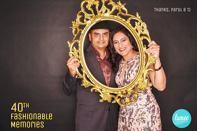 Parul's 40th Fashionable Moments