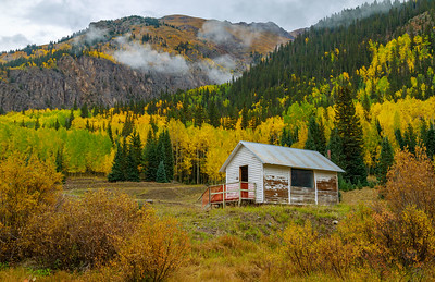 Colorado Rocky Mountains Fall Foliage