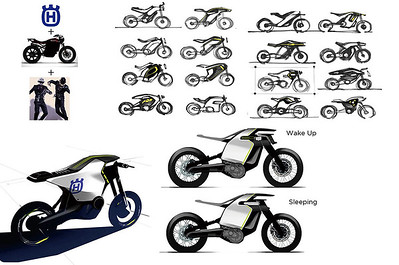 Electric engine motorcycles