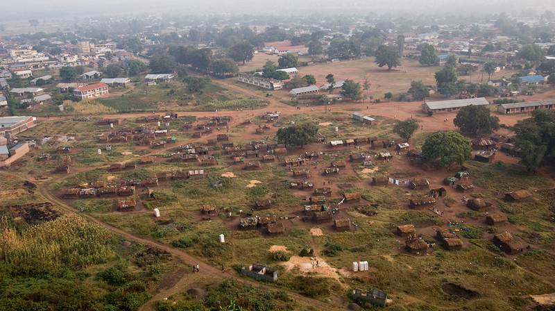 swaria idp camp in soroti (residents of this camp were initially displaced by the lord's resistance army and more recently by flooding)