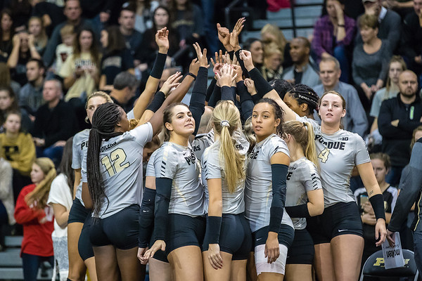 Purdue Volleyball vs Wisconsin 2017-11-11