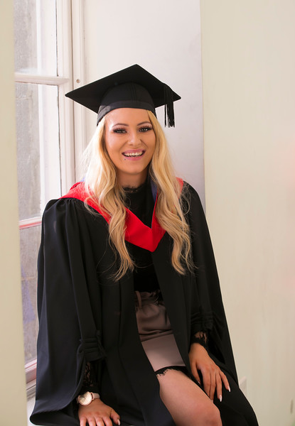 01/11/2018. Waterford Institute of Technology (WIT) Conferring Ceremonies 2018. Pictured is Sarah Looby. Picture: Patrick Browne