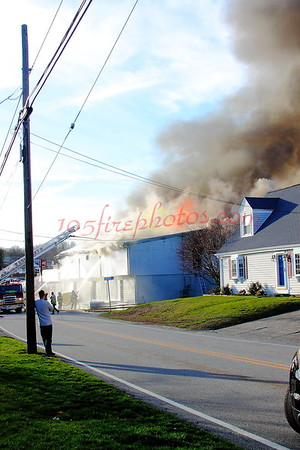 Somerset, MA 3rd Alarm+ County & Buffington Sts
