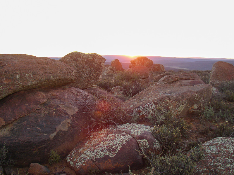 Sunset over Sutherland