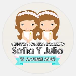 Comunión Sofía Y Julia