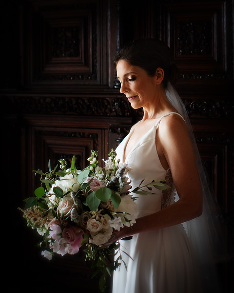 Bridal Portrait Duns Castle