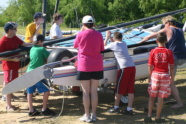 Sailing with the Hobie Cats