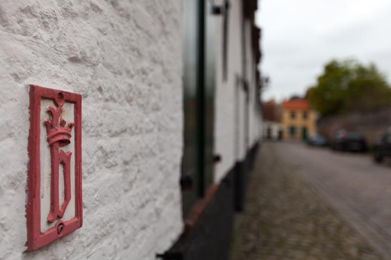 Bruges historic house.