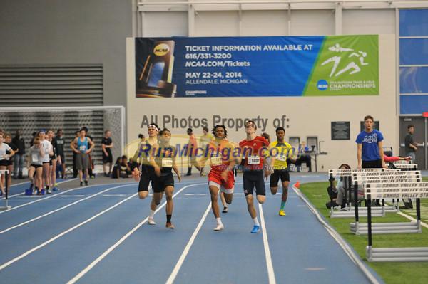 400M Boys - 2014 Gazelle Elite MITS Meet at GVSU
