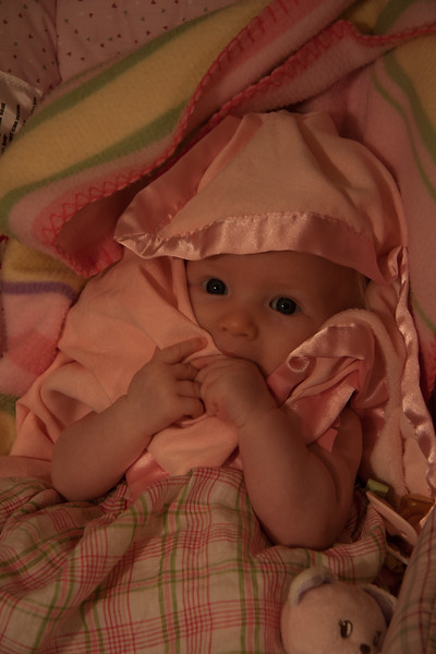 Chloe Lorraine Howland, June 21st 2006 - almost 3 months.