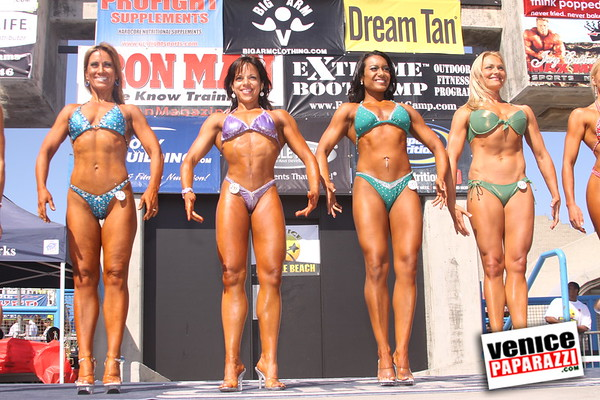 07.04.09  Mr. and Mrs. Muscle Beach Bodybuilding and Figure Competition.  www.musclebeachvenice.com