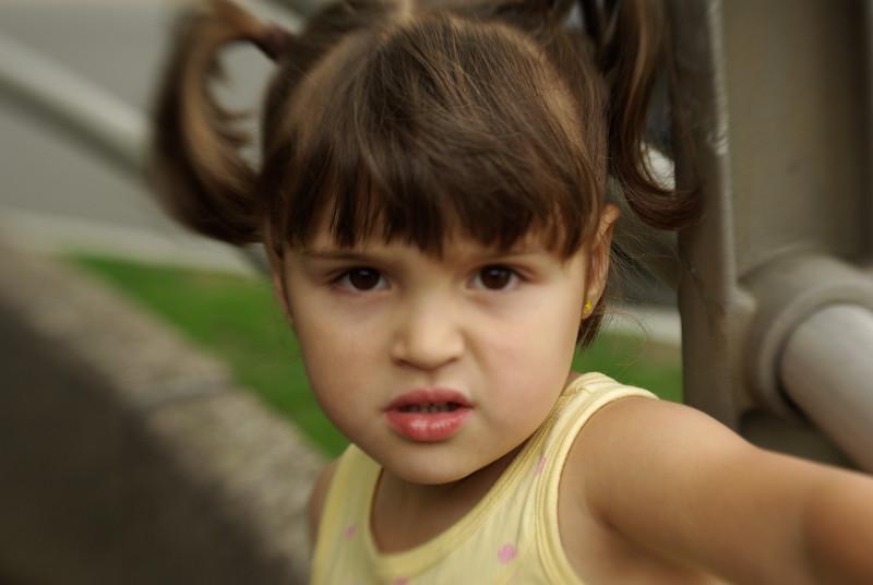 Tough girl.