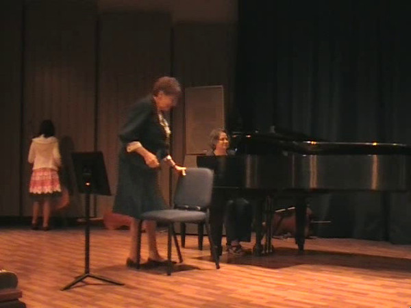 Sean's Viola recital 2011
