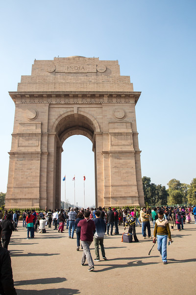 India Gate - December, 2015