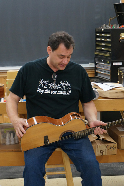 Making an Acoustic Guitar with Ressler
