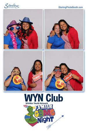 WYN Club Family Game Night
