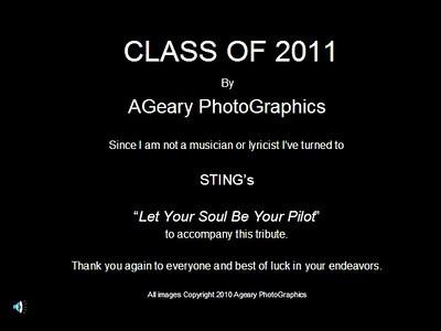 Seniors 2011 Tribute video