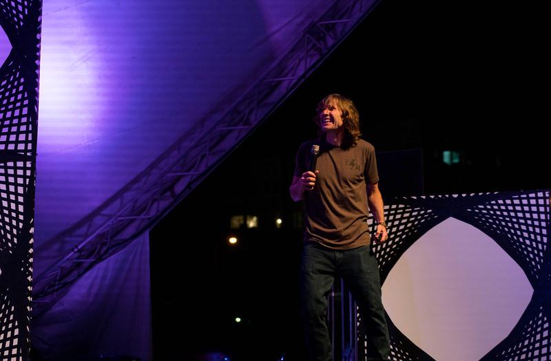Rodney Mullen. Professional skateboarder, entrepreneur. Thinklandia 2016.