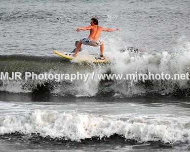 Surfing, Gilgo Beach, NY, (8-28-06)