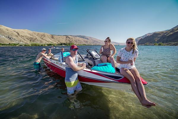 Lake Entiat Sandbar