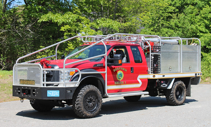 Brush 1 2015 Ford F-550 / Firematic 200 / 300 / 15F