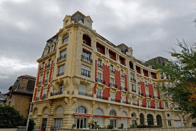 Biarritz, villa Russe