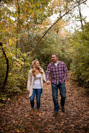 Phoebe + Lucas | Pewaukee Engagement Photography