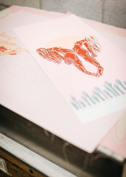 Hilary Honadel: Printmaker