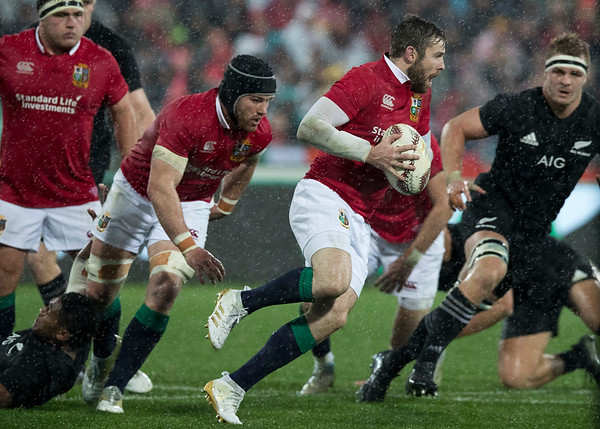 Elliot Daly during game 9 of the British and Irish Lions 2017 Tour of New Zealand, the second Test match between  The All Blacks and British and Irish Lions, Westpac Stadium, Wellington, Saturday 1st July 2017 (Photo by Kevin Booth Steve Haag Sports)  Images for social media must have consent from Steve Haag