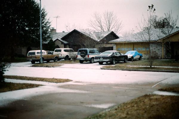 Houston Snowfall - 12/22/89