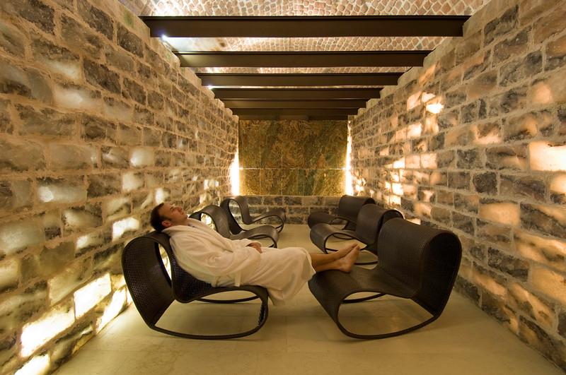 Poland, Cracow, Hotel Stary on ulica Szczepanska, sporrt and health centre, salt room