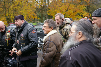 Remembrance Ride, 11 Nov