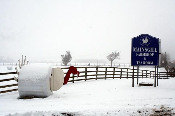 Mainsgill Farm – Christmas Eve 2009