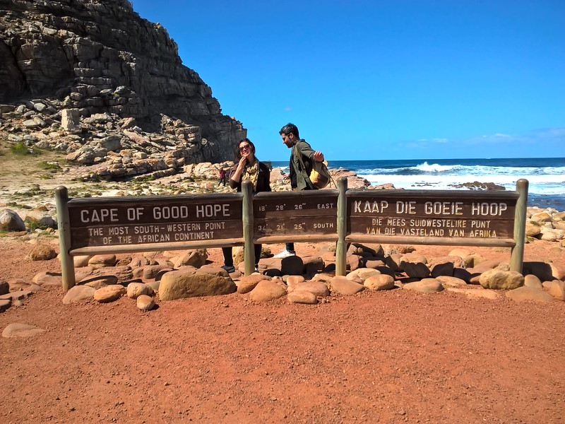 At the end of the road, no matter the language this was the Cape of Good Hope.
