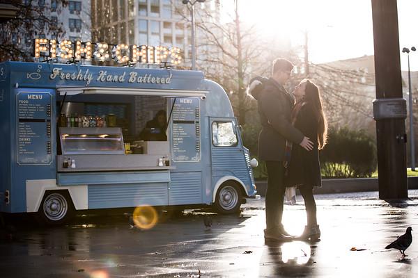 Kaitlin Patrick - Engagement - London