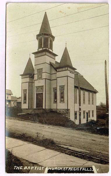 Baptist Church, St. Regis Falls, N.Y.