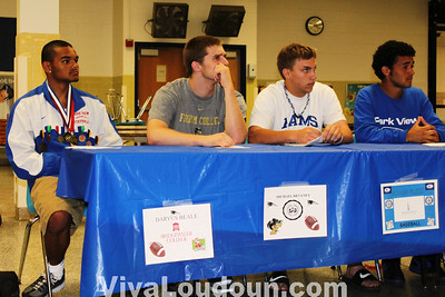 College Signing: Park View End of Year Ceremony