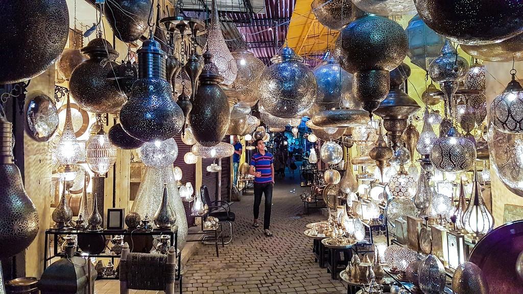 Morocco Trip - Marrakech Market