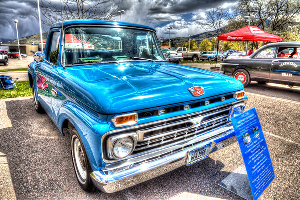 66 Ford F-100 Flareside