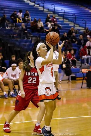 Girls Varsity Basketball v Edison 11/27/18