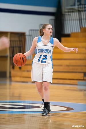 2-25-19 Garber JV & Varsity Basketball